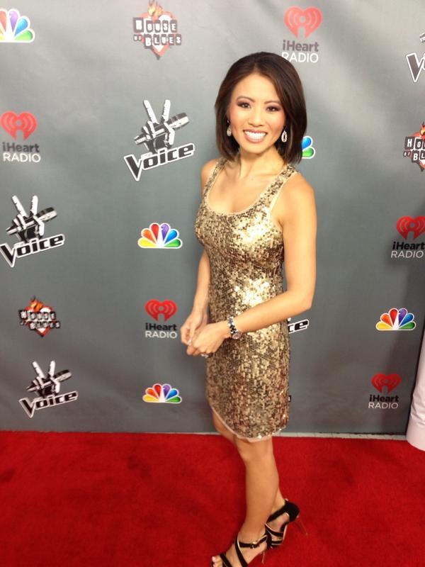 Feel so glamorous! @nbcthevoice red carpet! http://pic.twitter.com/izkna8I9