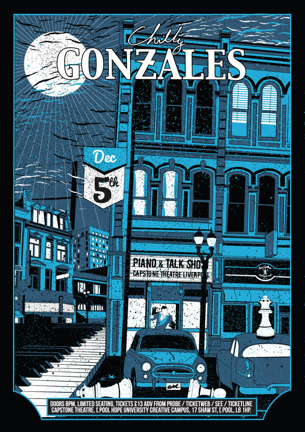 Gonzales' Liverpool Poster