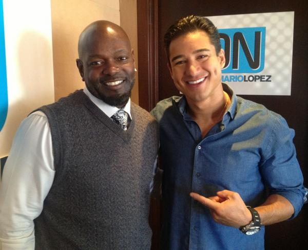 Mario Lopez On Twitter My Old Buddy Emmitt Smith Hung Out Today Too Onwithmario Talked Dancing Football Family Dwts 22 Http T Co Kz5ftjaf