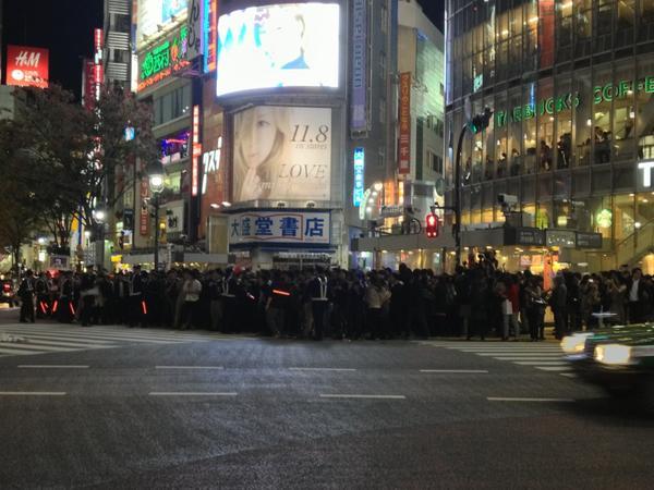 【恒例】 渋 谷 で 大 騒 ぎ ! !