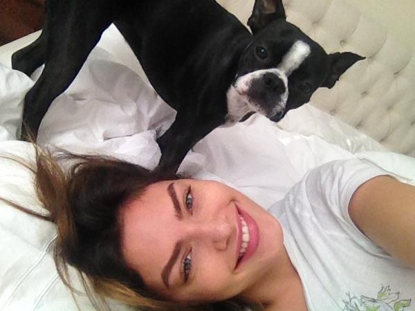 Alyssa Miller  - Morning wres twitter @luvalyssamiller
