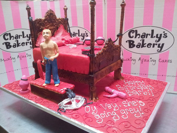 Charlys Bakery on Twitter Most awesome 50 Shades of Grey cake