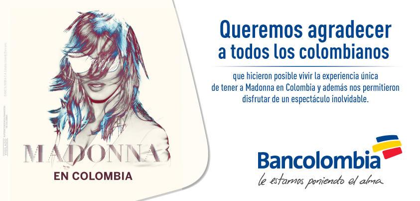 Le estamos poniendo el alma. Bancolombia