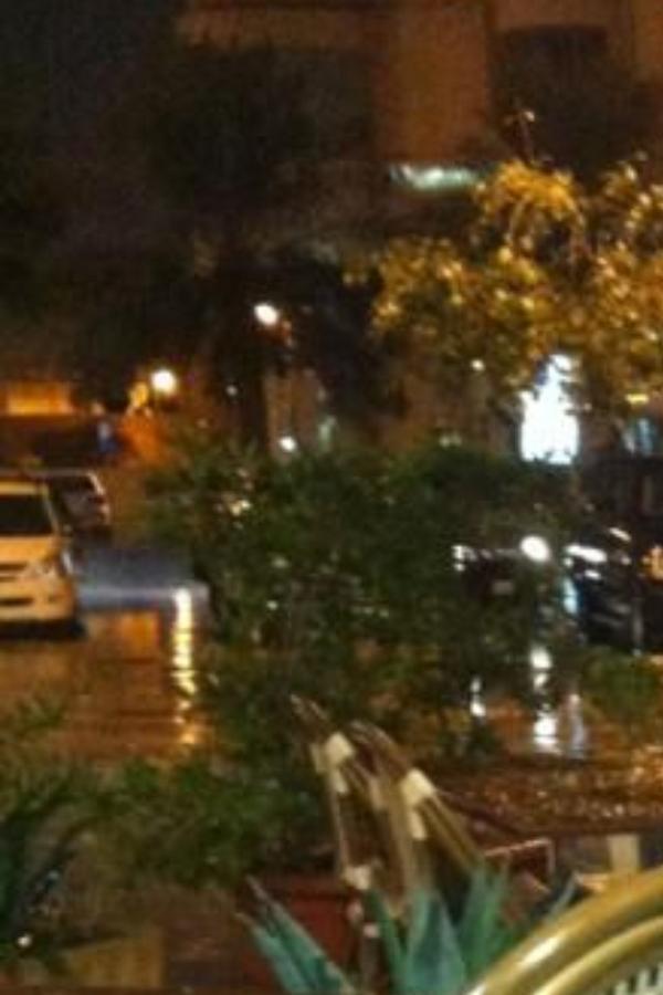 امطار الرياض الليلة 28/11/2012