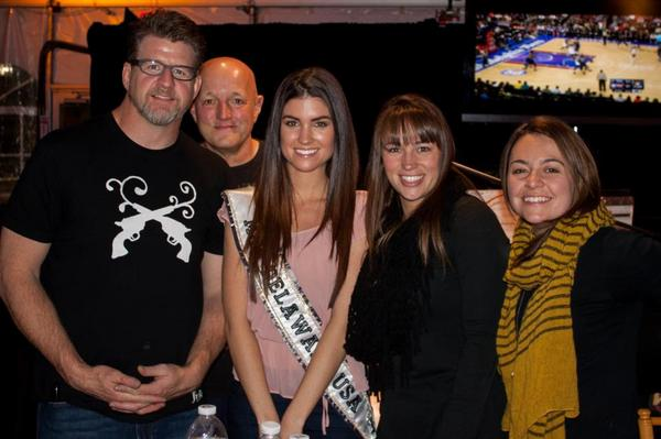 First appearance as #MissDEusa2013 at #CampOut for Hunger with @PrestonSteve933 ... Love this bunch and all they do. http://pic.twitter.com/yeh1EaCc