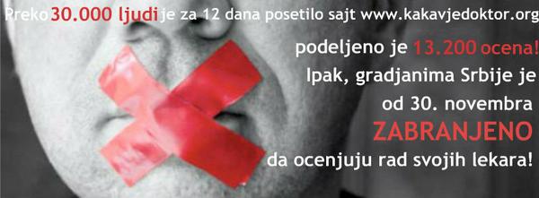 Podrška građanskoj aktivnosti, jer imamo pravo da kažemo #KakavJeDoktor RT http://pic.twitter.com/EbuUzbSg