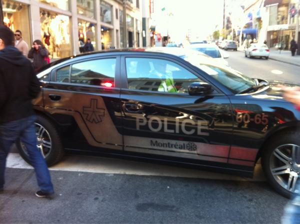 2012-11-18 [photo @frogsarelovely] Nouvelle voiture de police aperçu à la Manif aujourd'hui