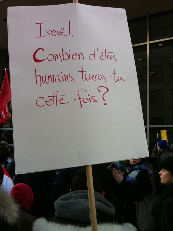 2012-11-18 13h30 [photo @frogsarelovely] Israel combien d'êtres humains tueras-tu cette fois?