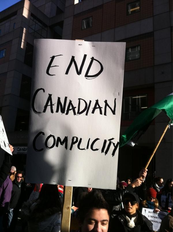 2012-11-18 13h32 [photo @frogsarelovely] End Canadian complicity