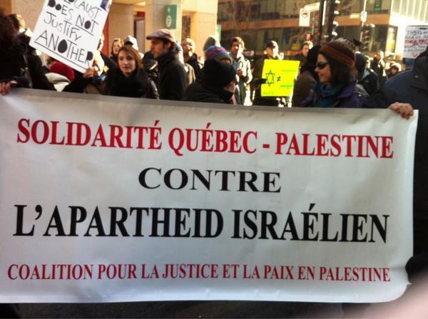 2012-11-18 13h39 [photo @frogsarelovely] Solidarité Québec - Palestine contre l'apartheid Israélien