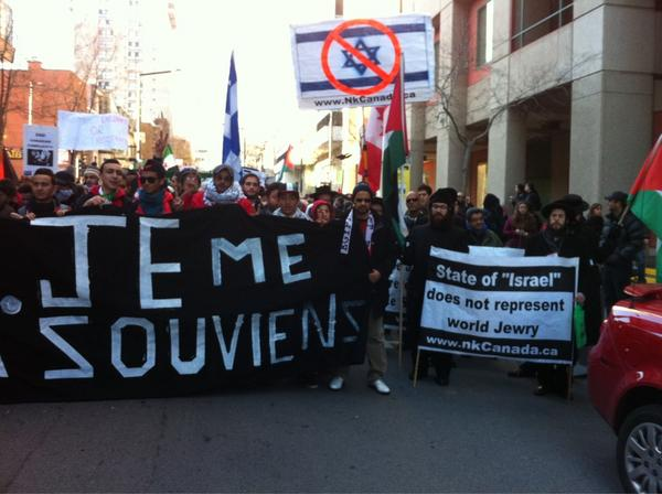 2012-11-18 13h46 [photo @frogsarelovely] So So So Solidarité avec #Gaza Viva viva #Palestine #Montréal