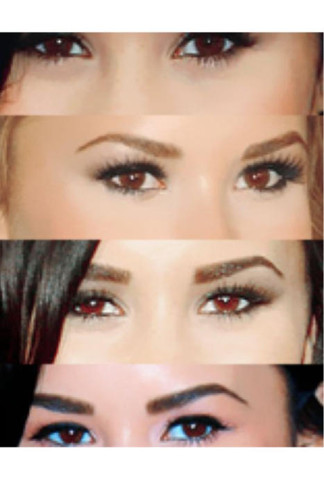 "demi's eyebrows on Twitter: ""demi lovato's eyebrows change ..."