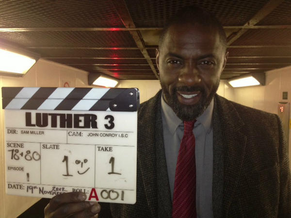 And the Luther 3 shoot begins... http://t.co/48eyoZ30