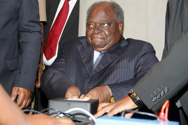 IEBC Voter Registration Launched at KICC by President Kibaki. Photo by Fredrick Omondi Onyango http://pic.twitter.com/cXV8CEDr
