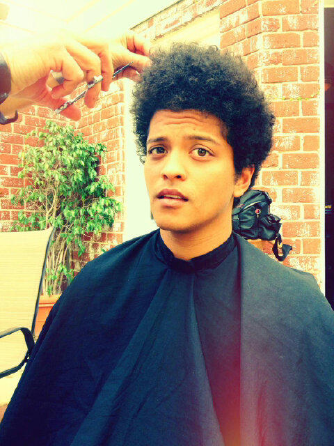 black afro hair styles bruno mars on quot i call the this cut the moonshine 3668