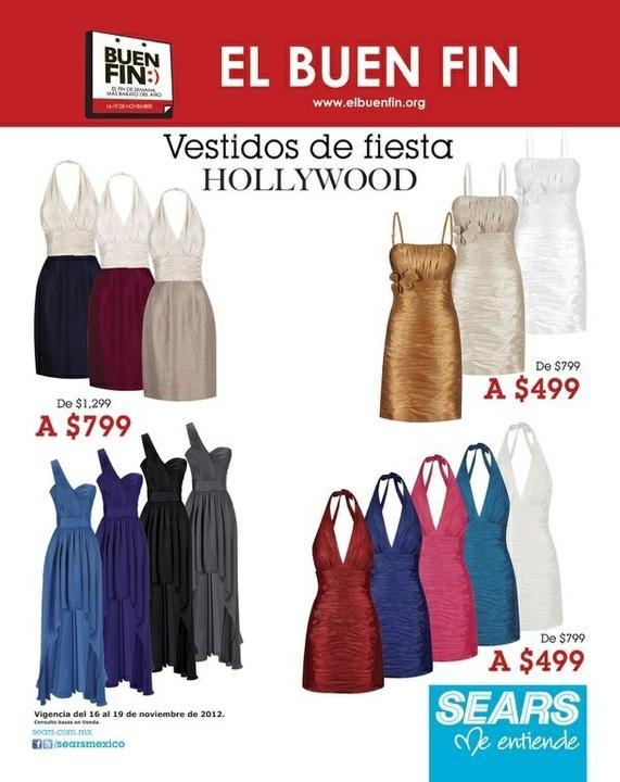 Sears México On Twitter Encuentra Los Vestidos De Fiesta