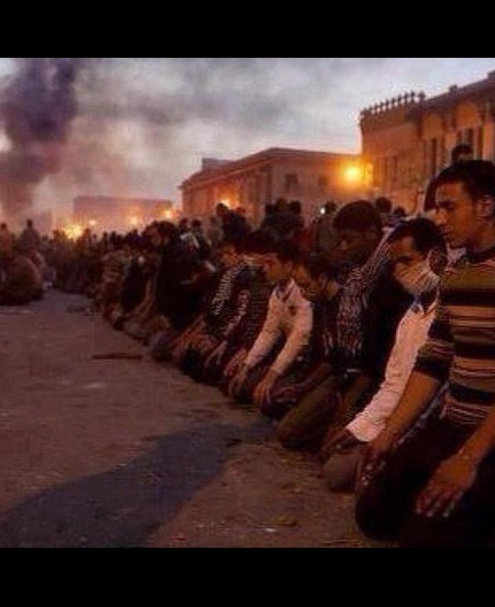 Current situation in #Gaza bombs falling like acid rain still they bowdown for prayer.faithful muslims. #prayforgaza http://t.co/ffFcaVbq