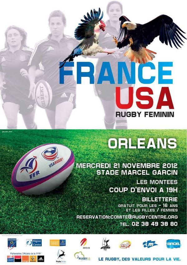 USA v France poster
