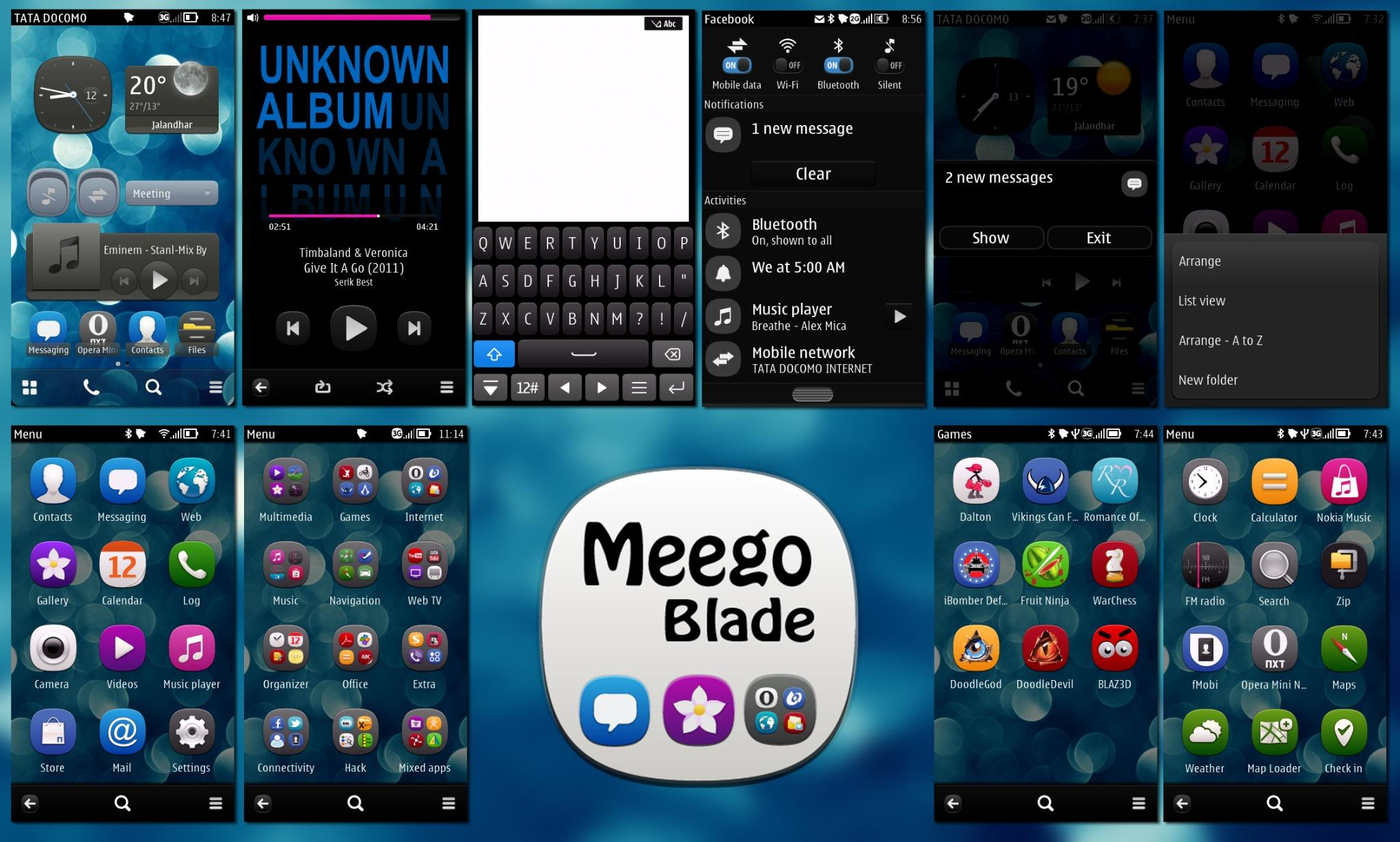 Theme Nokia Belle MeeGo by Blade