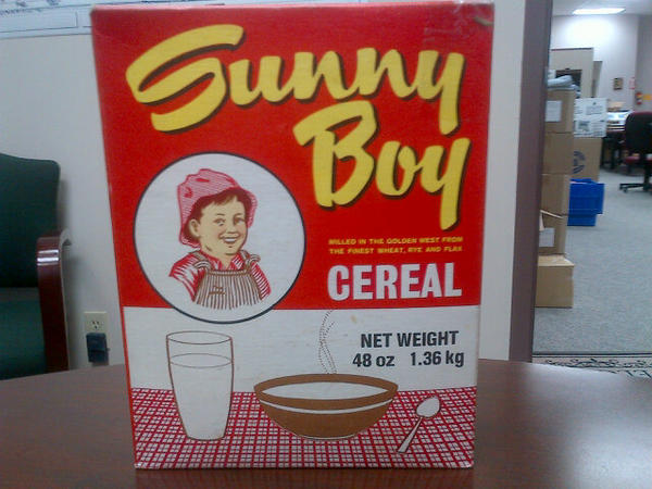 Image result for sunny boy cereal