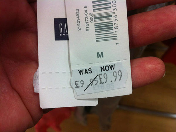 For people who really HATE a bargain http://t.co/ki1CQSuC