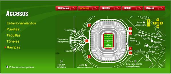 Estadio azteca on twitter victor rejon te adjunto for Puerta 9 estadio universitario