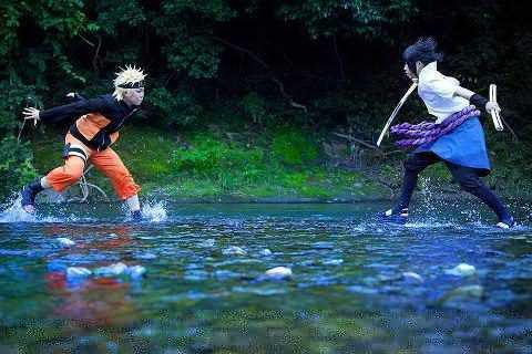 Arun On Twitter Cosplay Naruto Vs Sasuke Keren Ga Gan Narutoina Uploaded Via Ultwimate Tco FDO55S23