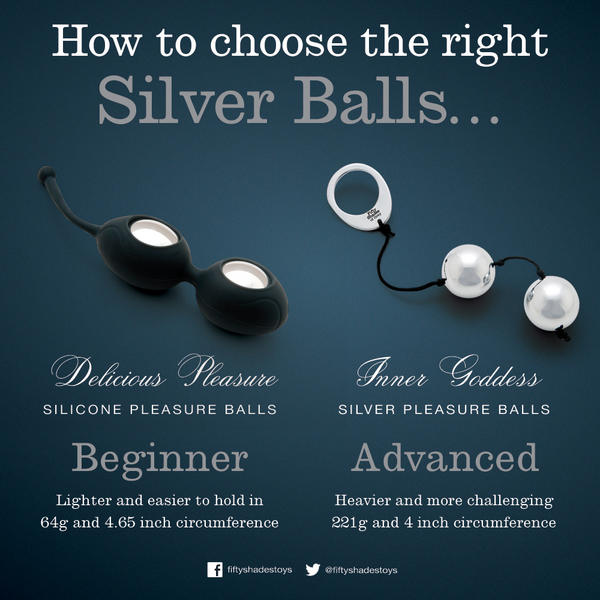 50 shades of grey pleasure balls