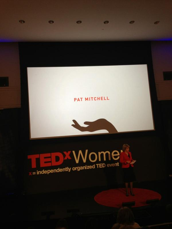 @patpaley So excited to be at here at #TEDxWomen 2012. http://pic.twitter.com/13SC9MM4