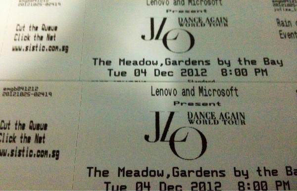 3 more days mama @Jlo @JLoDancers hoping for #Twee2Meet @tweet2meet1 😘 #DanceAgainWorldTour2012 #JLoInSingapore