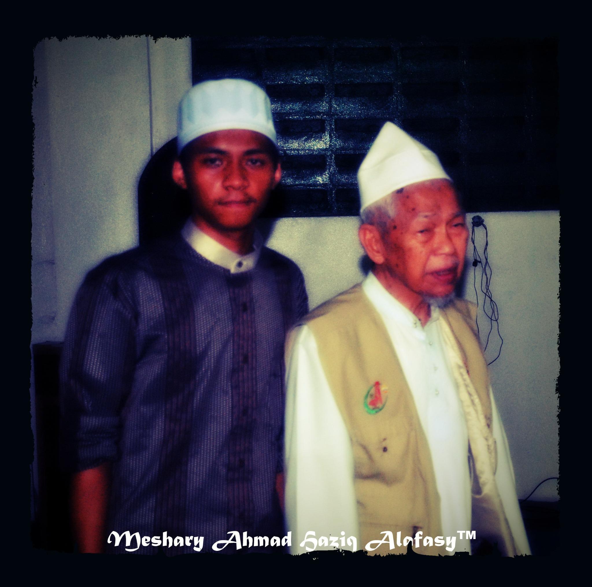 Bersama Tuan Guru Nik Abdul Aziz Nik Mat