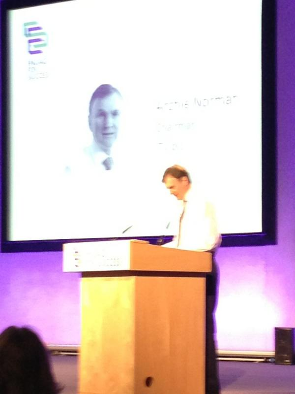 Archie Norman, Asda taking the stage #e4s http://pic.twitter.com/zTeX1ZIx