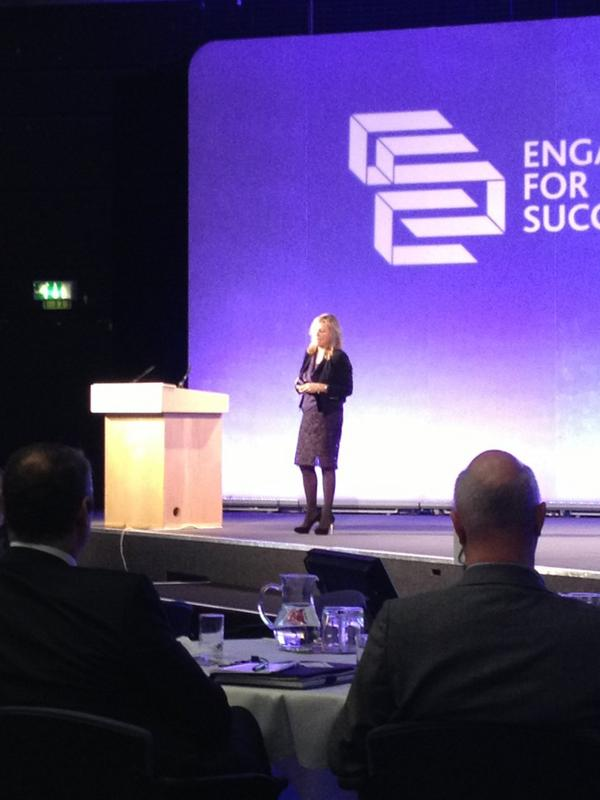 "Tanith Dodge from M&S talking about the ""nailing the evidence"" paper - ""we wrote this one for the doubters"" #e4s http://pic.twitter.com/51WQlwjG"