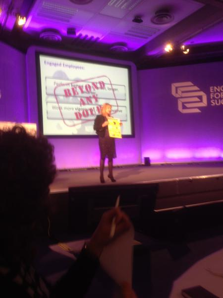 Tanith Dodge HR Director from M&S with our infographic #E4S @Engage4Success @HeadlinesComms http://pic.twitter.com/AIFucVOE