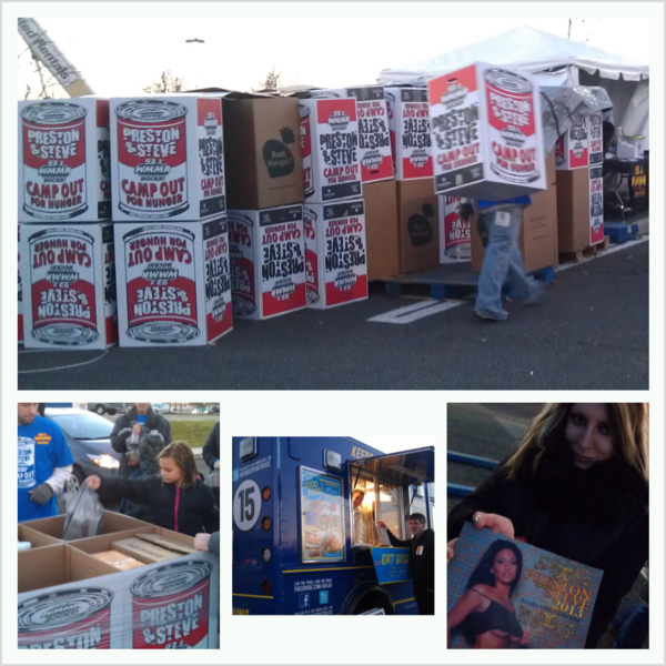 RT @PrestonSteve933: Lots of boxes we hope to fill tonight at #CampOutForHunger. We have calendars & dinner for everyone who donates http://pic.twitter.com/jfjSAXnJ