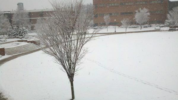 Thumbnail for First Snow of the Season - Nov. 27, 2012