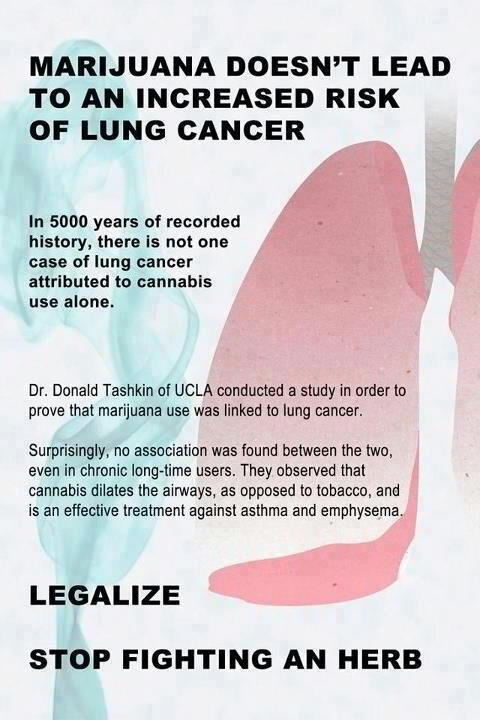 Does Smoking Weed Cause Cancer