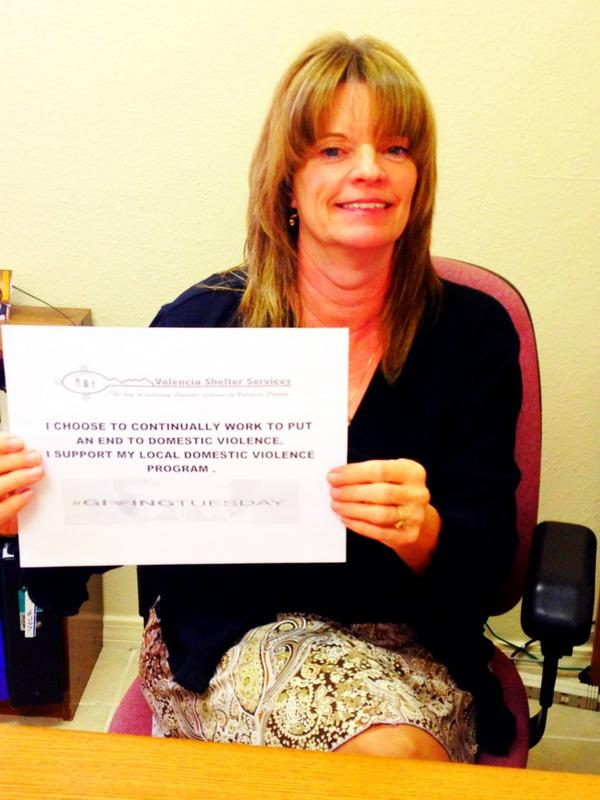Our staff is participating in #givingtuesday! #stopdv http://pic.twitter.com/QKEo7Qfa