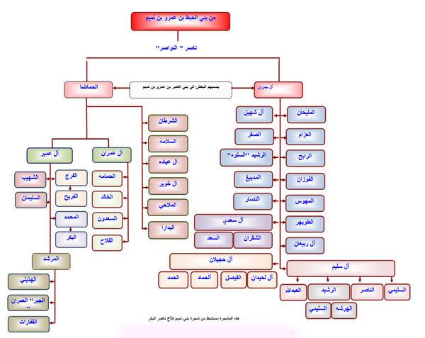 أشهر عوائل قبيلة بني تميم صحيفة بني تميم الإلكترونية