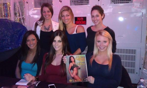 Calendar Girl Night!! These are just few of the girls you will meet when you bring a donation to #CampOut tonight http://pic.twitter.com/NfDQ1gLo