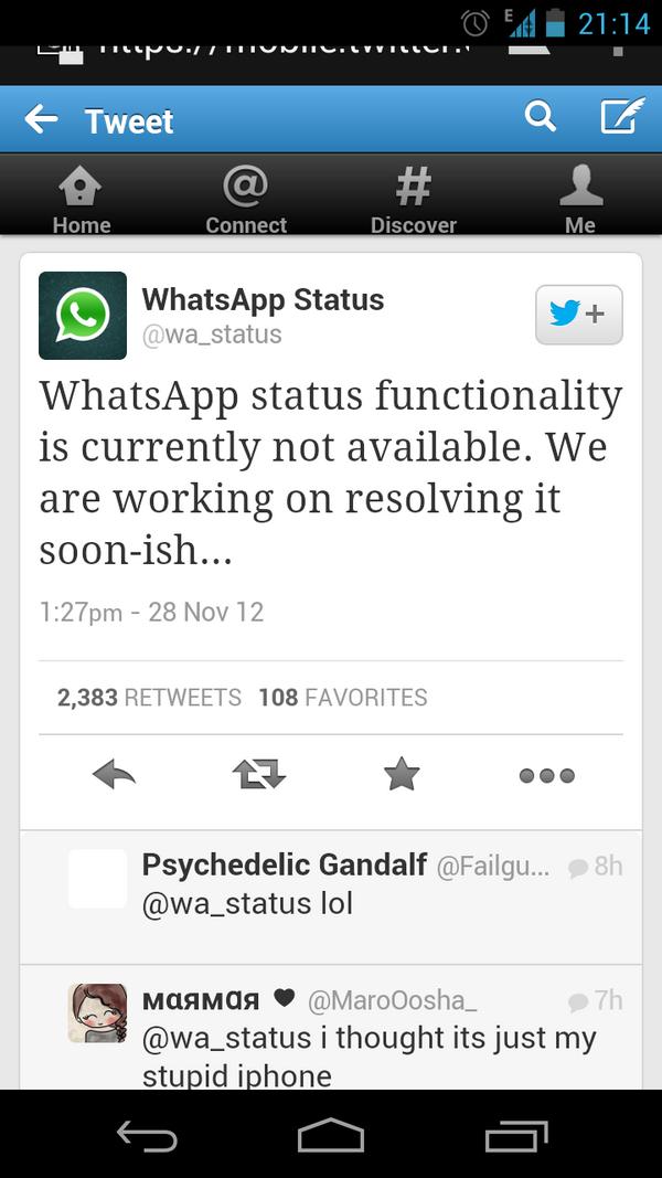 Wastatus Hashtag On Twitter
