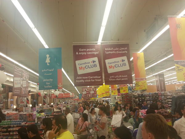 Kris Fade On Twitter Carrefour Mall Of Emirates Busy Busy Busy