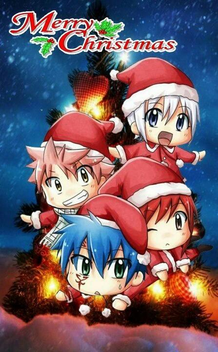 fairy tail on twitter merry christmas xoxo nali jerza httptco3wcnen4w