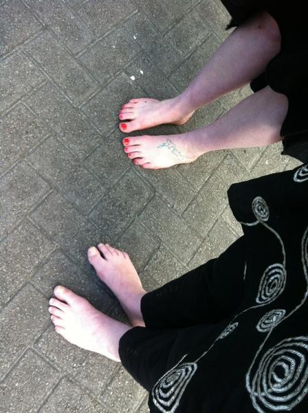 Jacinda Ardern Feet