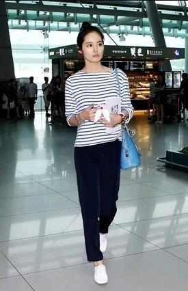 Gumzzi On Twitter Korean Celebrities Airport Fashion Natural Style