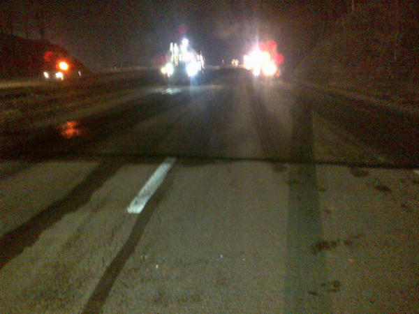 Milling is completed on the northbound side of I-77. http://pic.twitter.com/9BhEfdC3