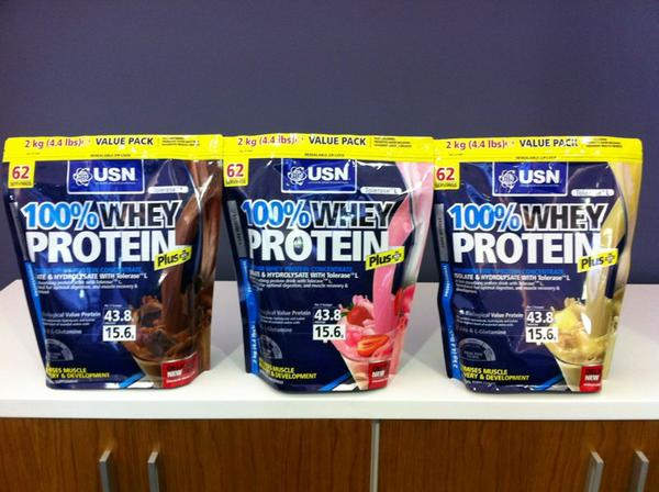 """Albé USN on Twitter: """"Whey Protein Plus value packs on shelves from Monday  at R399 for 62servings/2kg ...deal or what?? http://t.co/koaeC76C"""""""