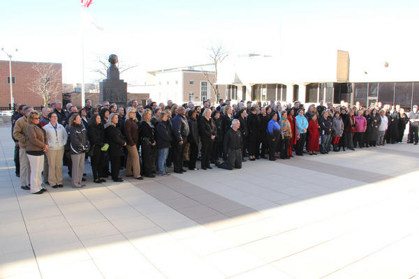 Here is a pic #LakeCounty employees took today at exactly 12:12 #1212chi http://pic.twitter.com/a7nafIGS