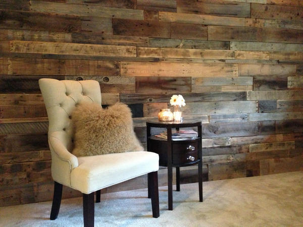 "Rebecca Robeson on Twitter: ""Reclaimed Wood Wall in m ..."