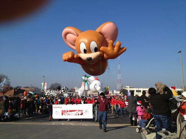 @CBS6 Martin's Jerry from Tom & Jerry in #RVAParade #RVA http://pic.twitter.com/b9DURiQc